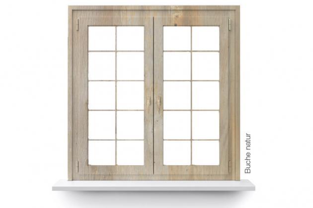 Fenster zweiflügelig